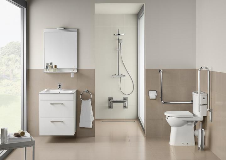 Baños para personas con movilidad reducida - Serrano